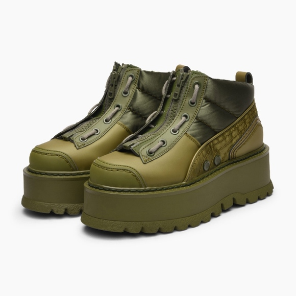 release date: 265d9 d56c2 NEW FENTY PUMA Rihanna Platform Sneaker Boot - 6.5 NWT